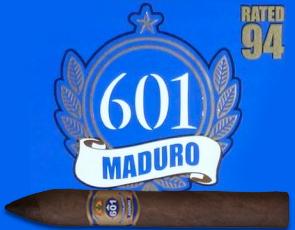 601 Serie Blue Maduro